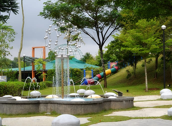 Science centre playground KL overview