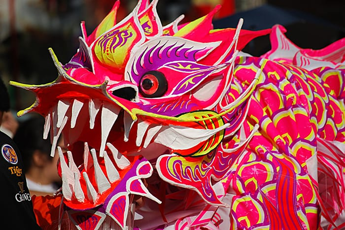 dragon dance big