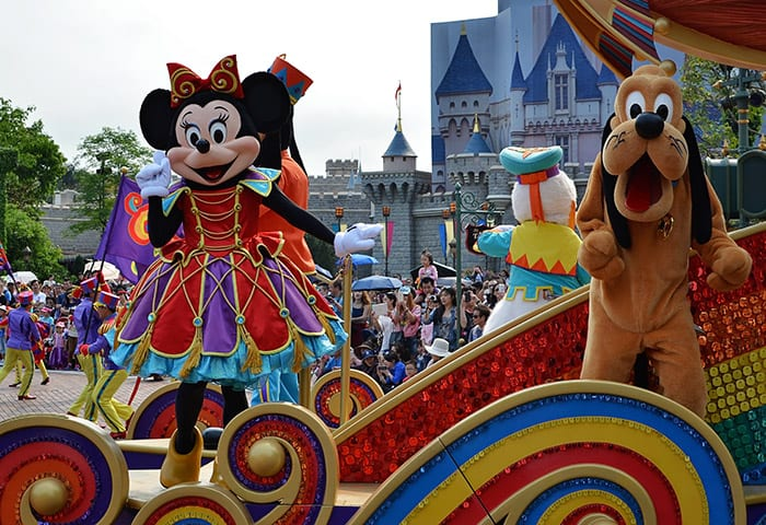 HGKL Hong kong disney minnie