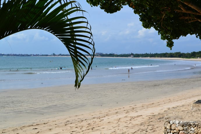 jimbaran beach view
