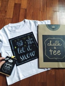 Chalk t-shirts and stickers by Chalkapella
