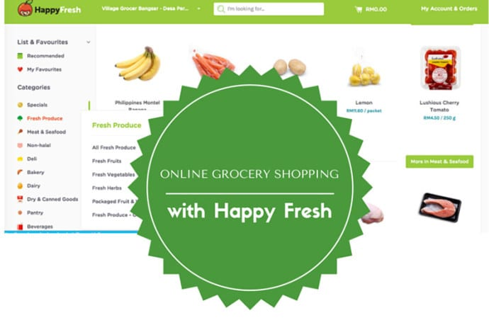 Online grocery shoppping