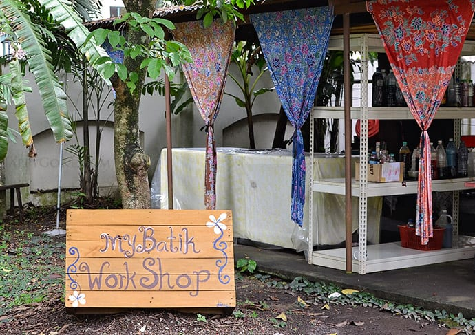 green tomato cafe batik workshop