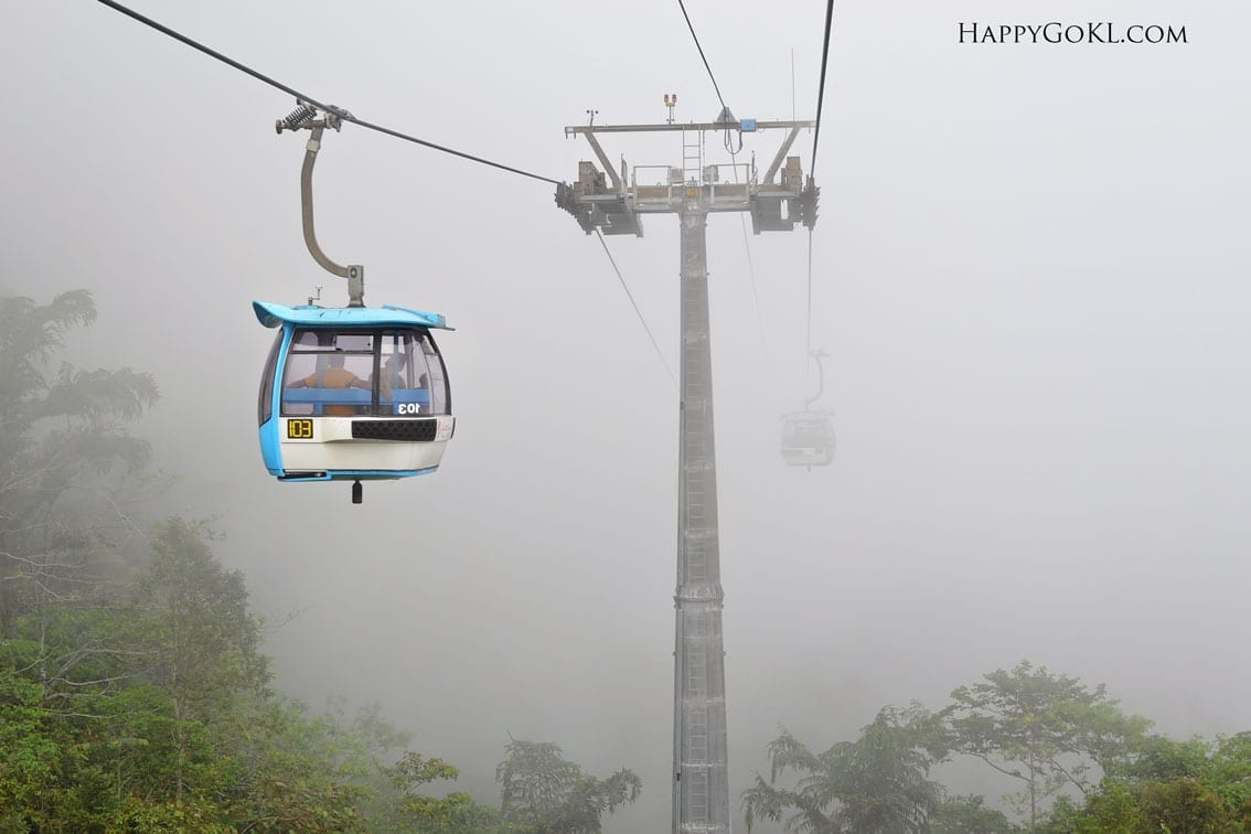 how to go from genting to cameron highlands