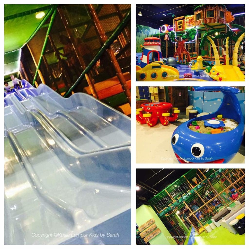indoor playground jungle gym