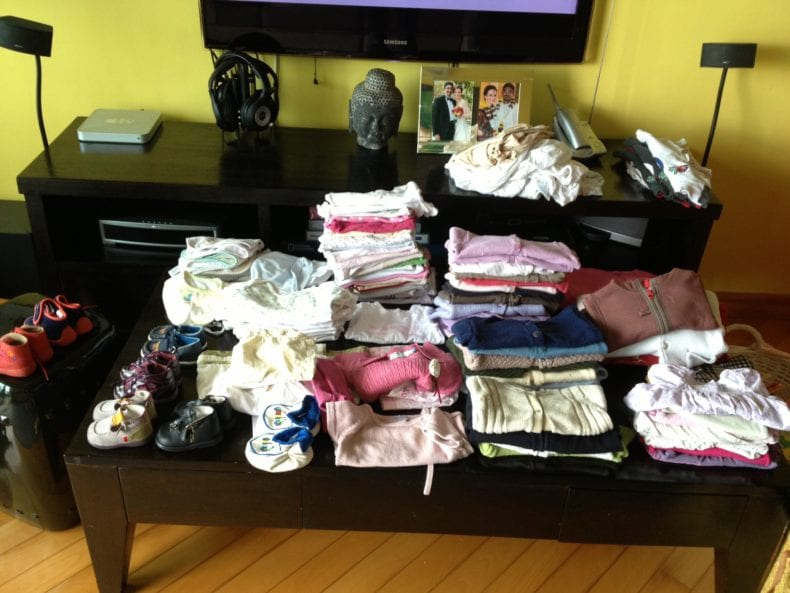 Clothes 0-12 months old