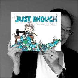 Kids' Book Review: Just Enough by Allie Hill