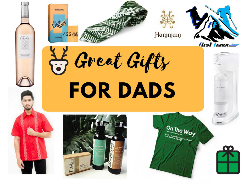 Great gifts for Dads at Christmas - Happy Go KL
