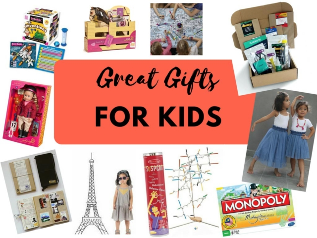 Great Gifts for Kids at Christmas