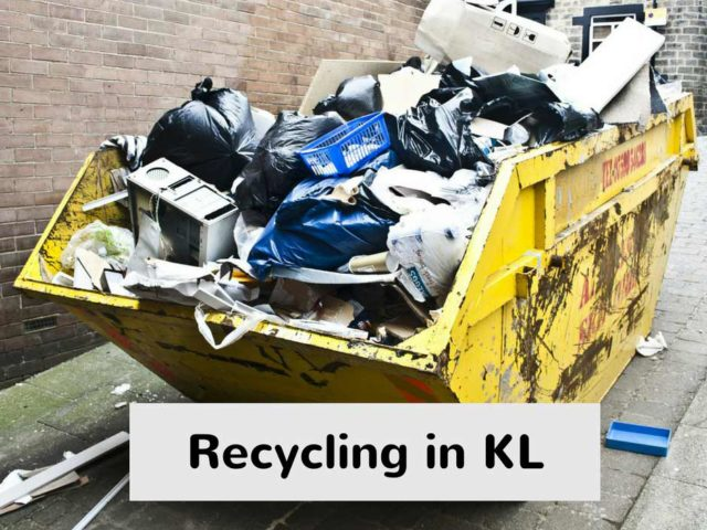 Recycling in KL – batteries, e-waste and more