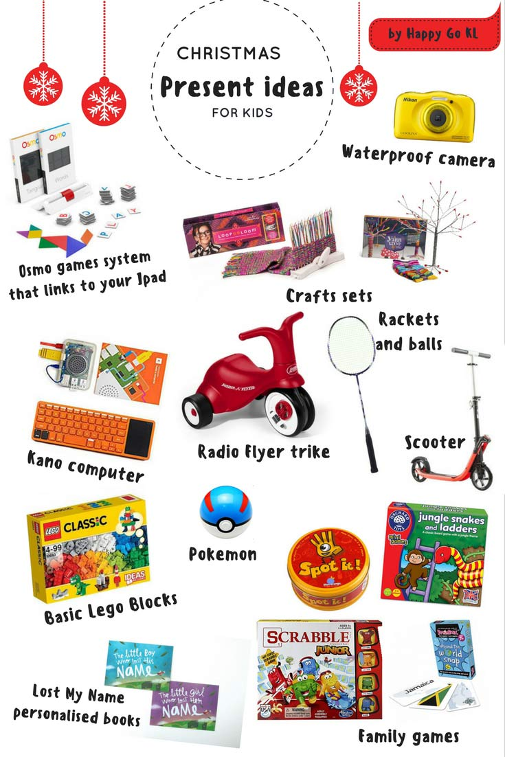 10 Great Christmas present ideas for kids - Happy Go KL