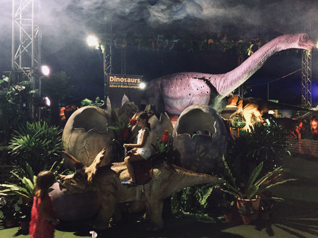 Dinosaurs Alive – KL exhibition
